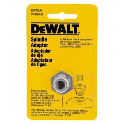 DeWalt Grinder Arbor Spindle Adapter