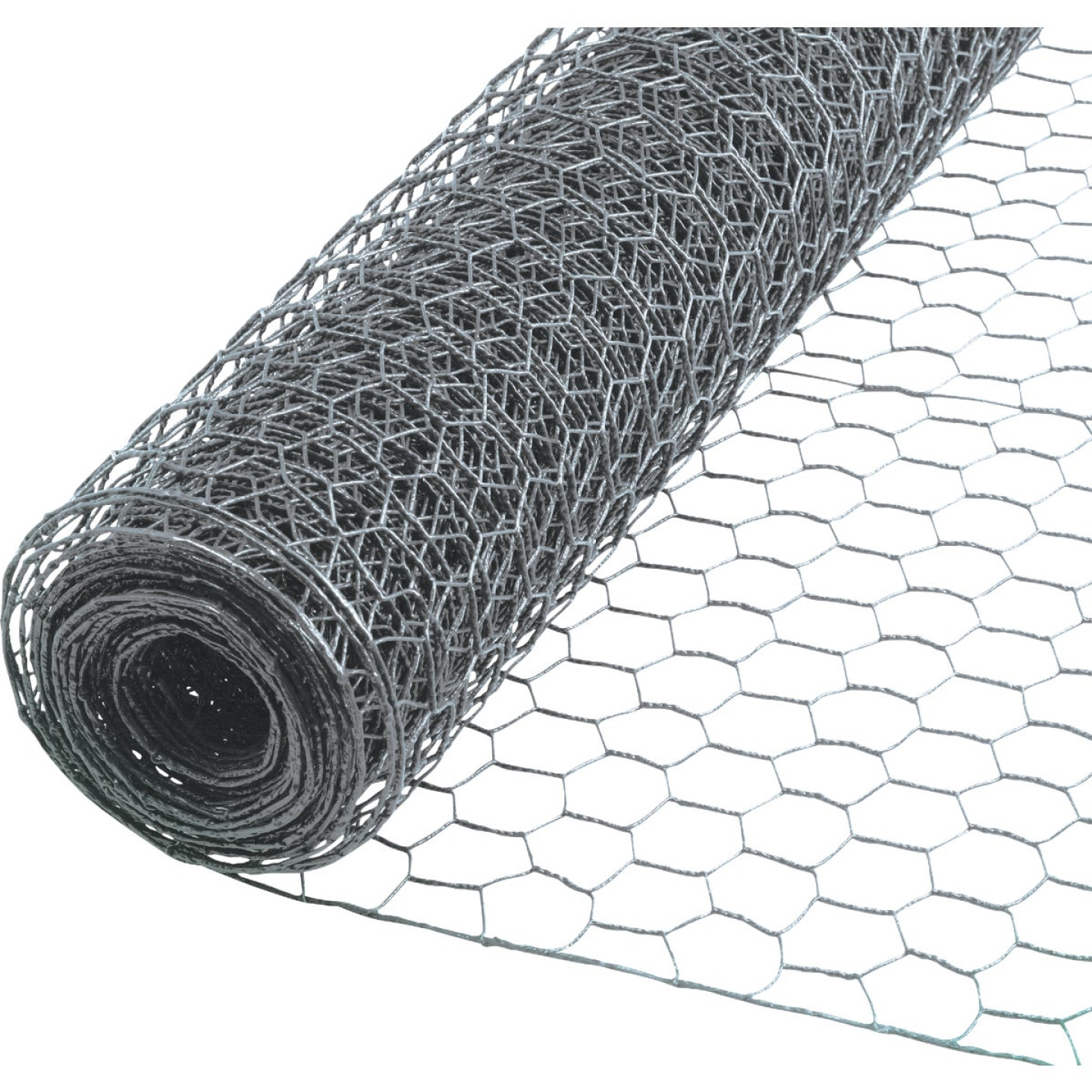 1 In. x 24 In. H. x 10 Ft. L. Hexagonal Wire Poultry Netting Image 1